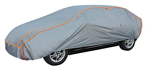 Walser Auto Hagelschutzplane Vollschutz wasserdichte atmungsaktive Hagelschutzgarage für optimalen Hagelschutz, Größe: L 31032