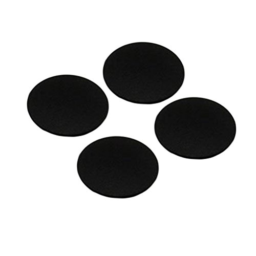 UKCOCO 4Pcs Bottom Case Rubber Foot Pads for MacBook Pro A1278 A1286 A1297 13/15/17inch