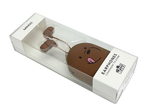 Moshi Moshi We Bare Bears Grizz Kopfhörer In-Ear Offizielles Lizenzprodukt