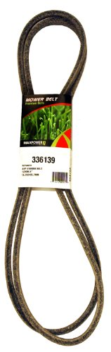 Maxpower 336139 Secondary Belt for Craftsman, Husqvarna, Poulan Replaces OEM #'s 144959, 532144959, PP12012, 531307218