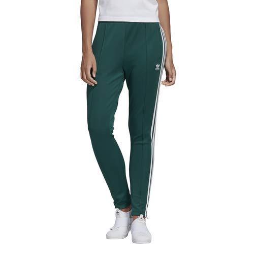 adidas Originals Women's Superstar Track Pants, collegiate green, X-Small