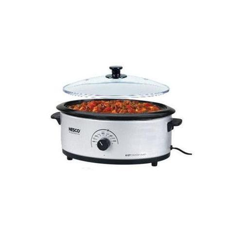 METAL WARE CORP. 4816-47 Nesco 6qt Roaster Oven Silver ;#by:mygoods