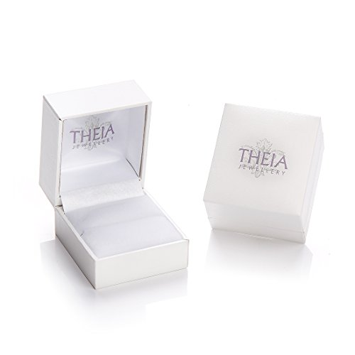 Theia Unisex 9 ct Rose, White and Yellow Highly Polished Gold Russian Wedding Ring
