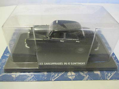 Editions Atlas Le Taxi Mercedes 190 – Le sarcofaghe del sesto Continent – Blake e Mortimer – Hachette
