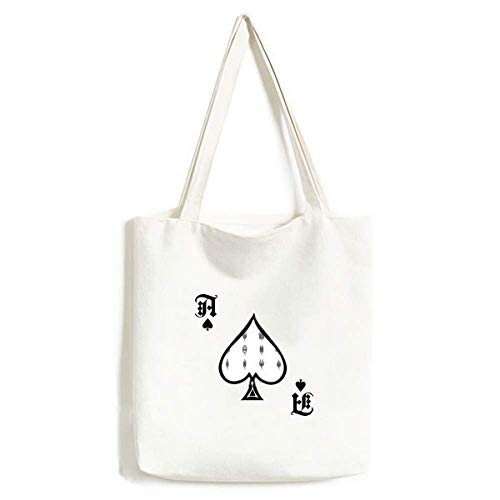 Schaltplan Steckdose Muster Handtasche Handwerk Poker Spaten waschbar Tasche