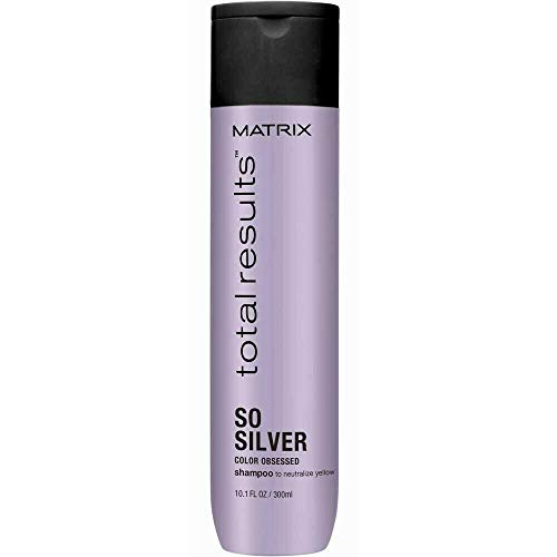 Matrix Champú So Silver neutralizador de rubios, 300 ml
