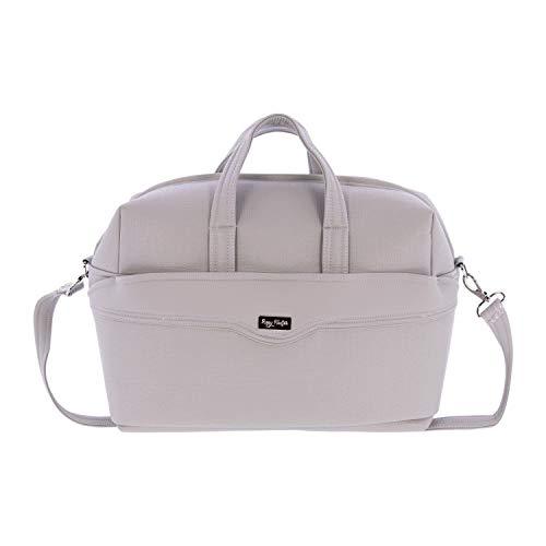 Bolsa de Canastilla Rosy Fuentes en color gris