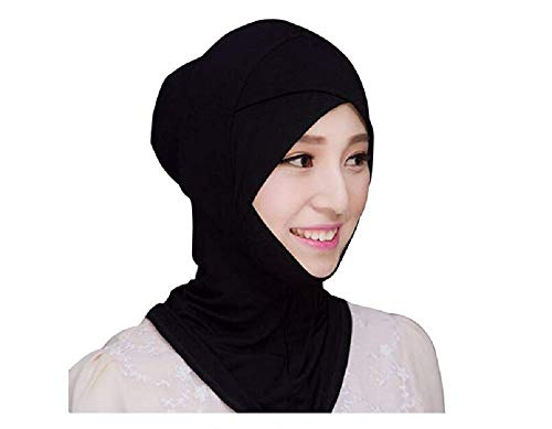 ILOVEDIY Mode Islamisch Kopfbedeckung Turban Band Hals Brust Bedecken Motorhaube Hijab