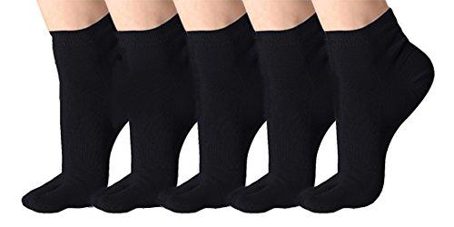 Urbancoco klassische, weiche, elastische Flip-Flop-Socken/Tabisocken, 5er-Packung Gr. 74-77, #D