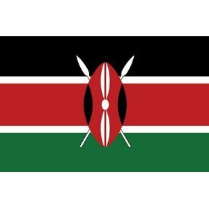 Kenia Fahne Flagge Grösse 1,50x0,90m - FRIP –Versand®