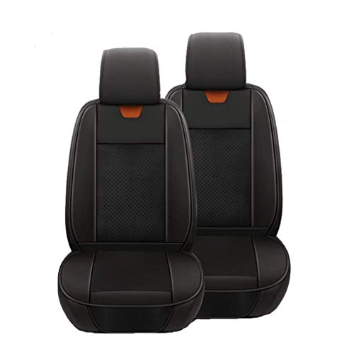 SHENRQIA Heated Seat Cover for Cars – Universal 12V Heated Car Seat Cushion Back Massager for Chair,Temperature Settings & Switch, Quick Heatin