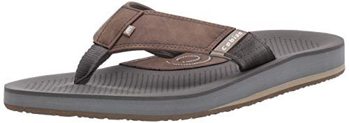 Cobian Men's A.R.V. II Chocolate Flip Flops, 9