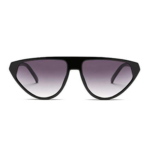 KANGDE Cat Eye Frauen Sonnenbrille Promi Sexy Sonnenbrille Flat Top Lady Oval Sonnenbrille