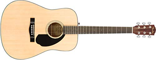 Fender CD-60S Dreadnought Nat WN Westerngitarre