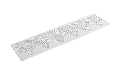 TRD05 Tapete de Silicona para Encajes de azúcar, Fantasy, Color Blanco