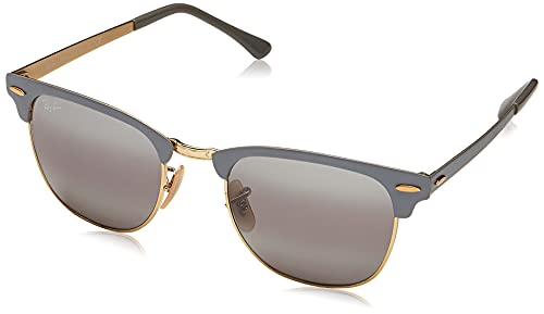 Ray-Ban 0RB3716 Gafas de Sol, Gold On Top Matte Gre, 50 Unisex