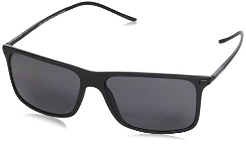 Giorgio Armani 0AR8034 Gafas, Negro (Black/Polar Grey), 57 para Hombre