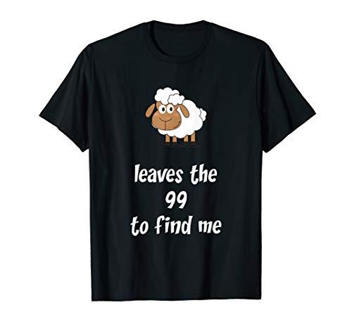 Das verlorene Schaf I Bibel I Spruch I Geschenk zur Taufe T-Shirt