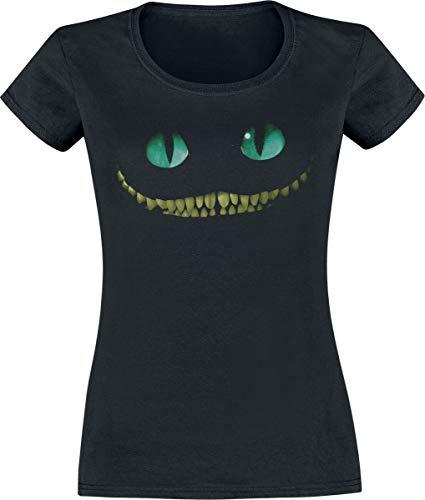 Alice im Wunderland Grinsekatze - Lächeln Frauen T-Shirt schwarz L