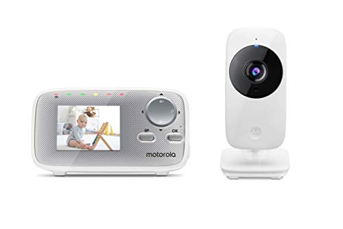 Motorola MBP29A Video Baby Monitor with 2.4 Inch Handheld Parent Unit and...