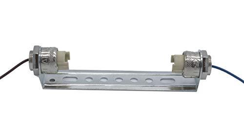 Doble casquillo R7s J118 con cable de teflón para lámparas lineales 118mm