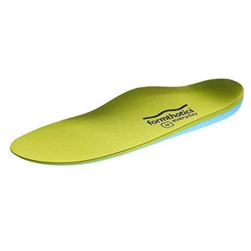 フォームソティックス Formthotics Sports インソール Run ShockStop 緑/青 Sサイズ 24.5-25.5cm