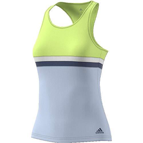adidas Club Camiseta sin Mangas, Mujer, Amarillo (seamhe), M