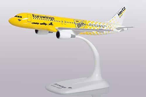 herpa-Eurowings Airbus A320 Hertz 100 años en Miniatura para artesanía Coleccionismo y como Regalo (612449)