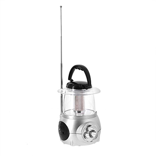 Northpoint 3-in-1 Mini LED Lanterns with Flashlight and FM Radio