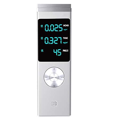 KAR Air-Monitor, TVOC/HCHO/API Benzen Luftqualität Tester, Haushalt Formaldehyd-Detektor Professionelle Air Quality Monitor Gasmessung