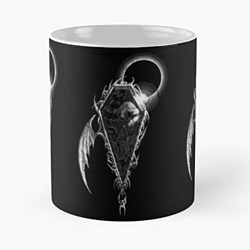 lridescent Profano Story Music Album Moon Dark Wing Portal Bat Best 11 oz Kaffeebecher - Nespresso Tassen Kaffee Motive