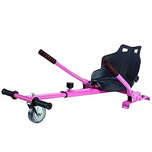 LHZMD Hoverkart Silla para Hoverboard Electrico Hover Kart Ajustable para Patinete Eléctrico...