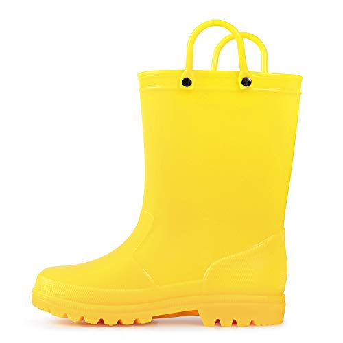 Kid Yellow Boots