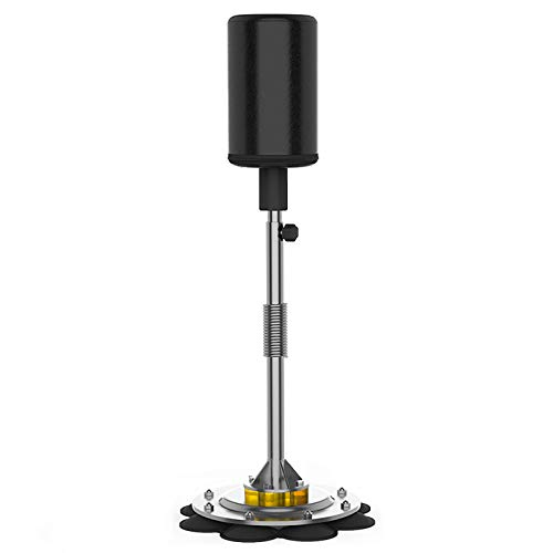 Liitrton Boxing Punching Bag Reflex Boxing Bag with Adjustable Height Stand for Adults and Kids Boing Training (Black)