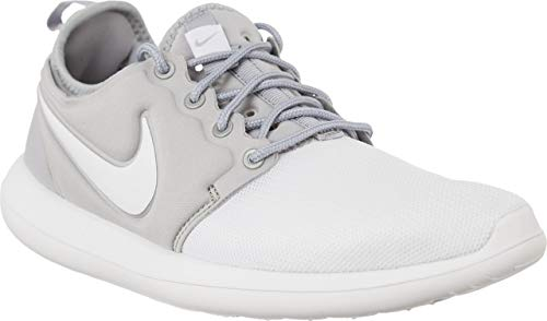 Nike Unisex Roshe Two Sneaker, Weiß (White/White/Metallic Silver Grey), 38 EU