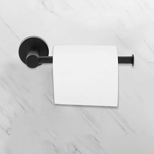 Barra de soporte de papel higiénico, soporte de soporte de papel higiénico de 5 kg / 11 lb, montado en la pared para comedor, lavandería