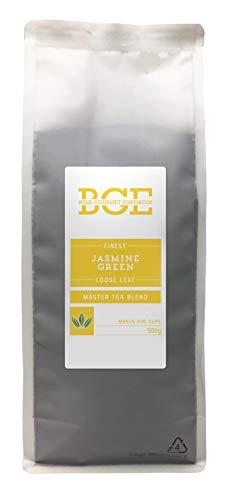 Bulk Gourmet Emporium - Te verde de hojas sueltas con jazmin en bolsa reciclable, 500 g (200 tazas aprox.)
