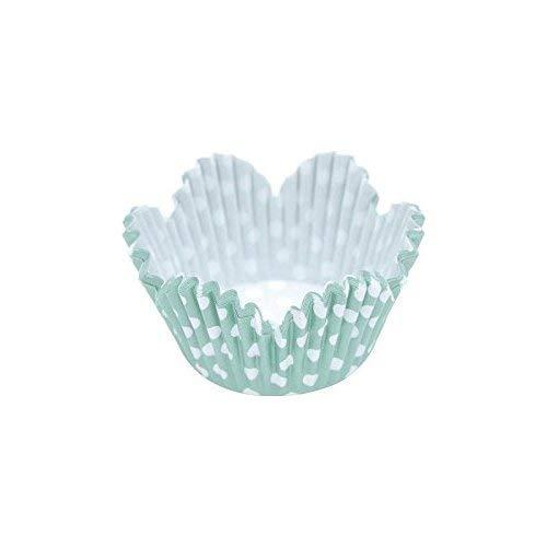 GPANDME Fleur Ensemble de gobelets en Papier, Assortis, 5 cm, 60 pièces
