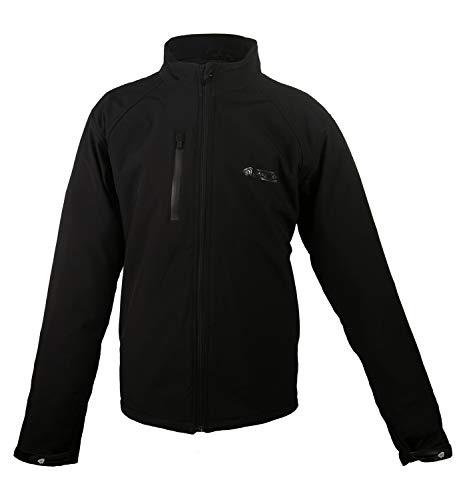 Zerimar KENROD Neoprenjacke für Männer Softshell-Modell mit atmungsaktiv Futter Farbe Schwarz Größe S