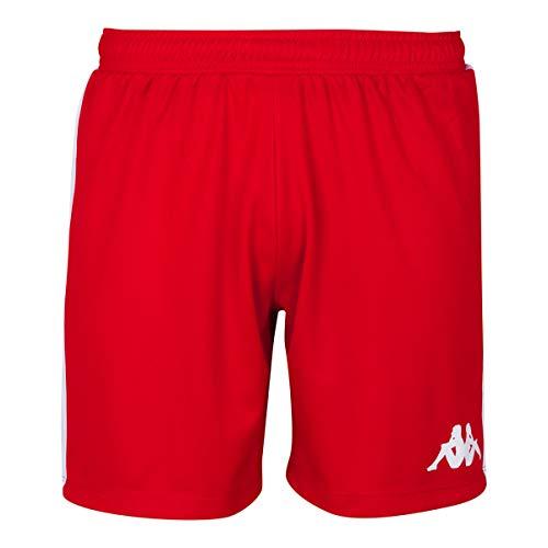 Kappa Calusa Pantalones Baloncesto, Mujer, Rojo, XL