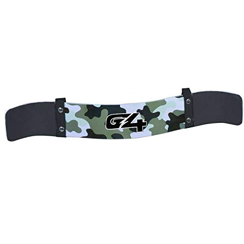 G4 VISION Arm Blaster for Biceps & Triceps Isolator Weight Lifting Body Building Dumbbells Barbells Curl Bar Assist Muscle Gain Arm Builder (Green Camo)