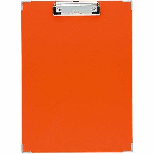 キングジム クリップボ-ド カラ- オレンジ 308Cオレ 00024773【まとめ買い10枚セット】