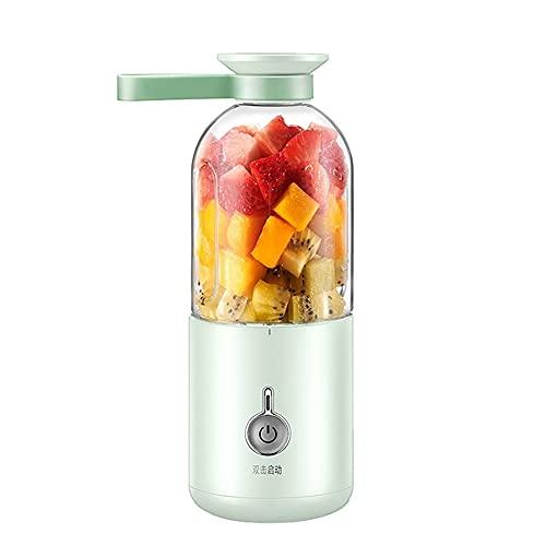 ASKLKD Mezclador de Frutas eléctricas Juicer Multifuncional del hogar Pequeño batido Máquina de batido de batido Acompañante Copa