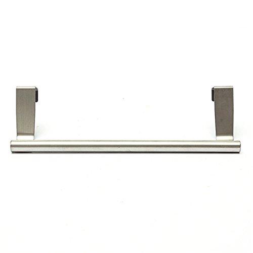 NiceButy - Toallero con barra telescópica de acero inoxidable