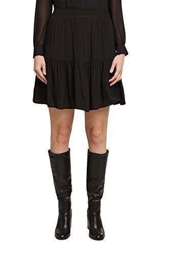 Esprit 120EE1D305 Falda, 001/negro, 38 para Mujer