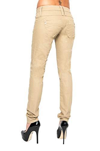 Lost in Paradise Damen Jeans Hose Celina super Slim - eleganter Aber bequemer super Slim Schnitt - perfekt für den Sommer, Größe:30W / 32L