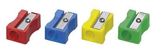 Westcott E-14207 00-I - Sacapuntas Simple de Plástico, 20 Unidades