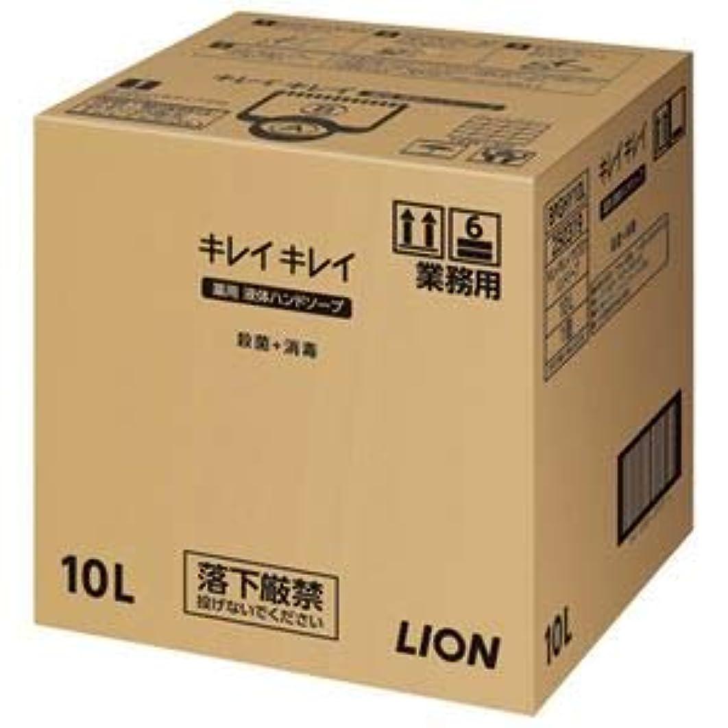 小道局平和(まとめ)ライオン キレイキレイ 薬用ハンドソープ 10L【×5セット】
