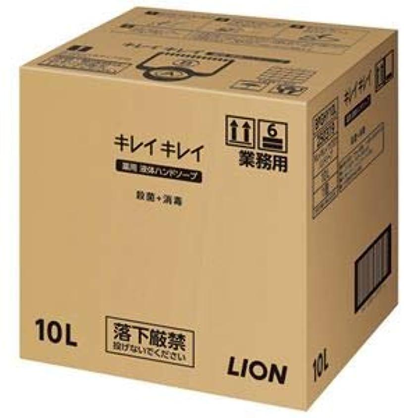 容疑者過ち無秩序ライオン キレイキレイ 薬用ハンドソープ 10L