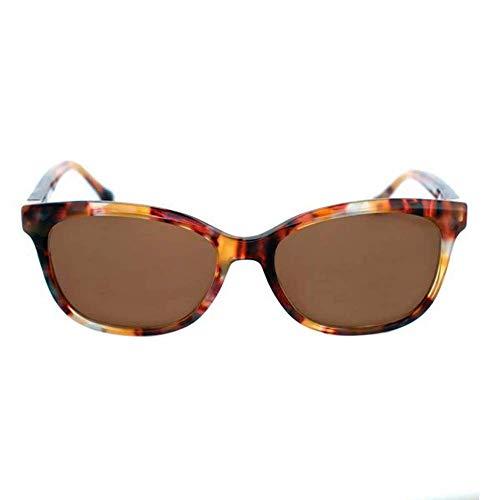 Loewe SLW9575206XE Gafas, SHINY STREAKED BROWN, 52x17x135 Unisex Adulto